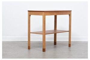 Thumb 1960s teak oak console table 0