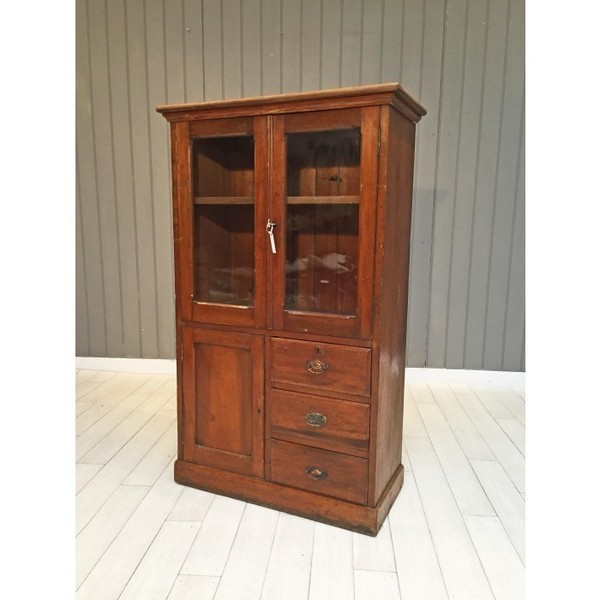 1920s Mahogany Display Cabinet