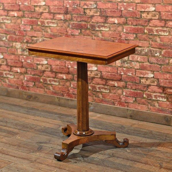 Antique Side Table, Regency Walnut C.1830