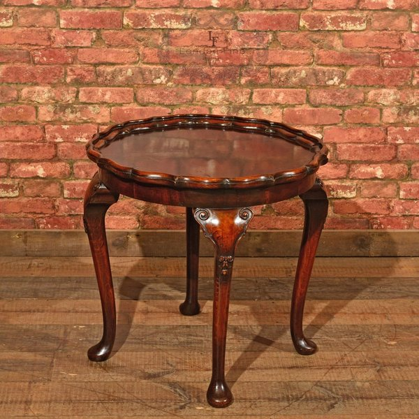 Victorian Pie Crust Coffee Table, C.1900