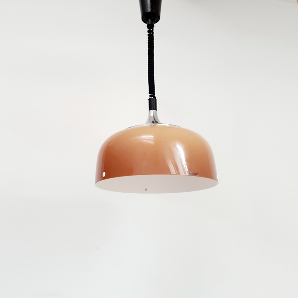 Italian Vintage Guzzini Pull Down Light