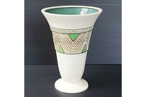 Thumb superb ceramic vase signed 1950 vintage rockabilly 50s 50 s years 50 0