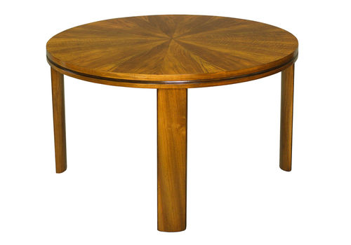 1920's Art Deco Walnut Table