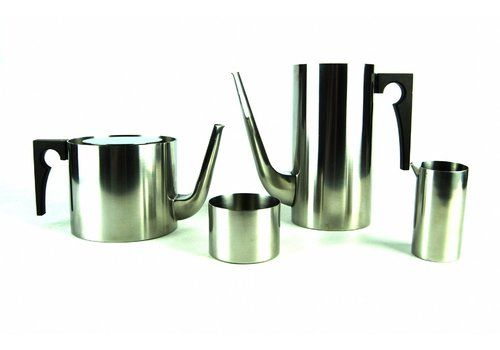 Cylinda Line Coffee And Tea Set By Arne Jacobsen For Stelton