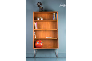 Thumb vintage g plan mid century retro teak bookcase display cabinet on hairpin legs fbbca0df 8f5b 46c3 ba1b 530881784b11 0