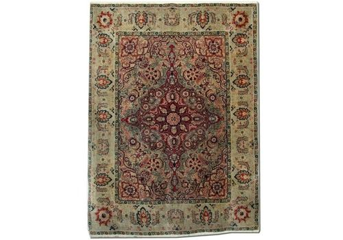 Handmade Carpet Antique Rugs, Agra Indian Rug, Luxury Red Rugs For Sale
