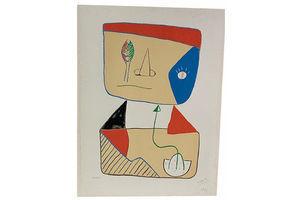 Thumb lithograph by marcello pirro for fiorenzo fallani venezia 1970s 1970s 0