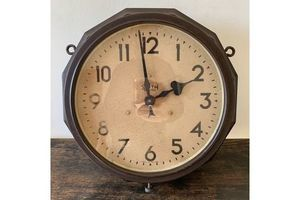 Thumb double sided smith electric clock 0