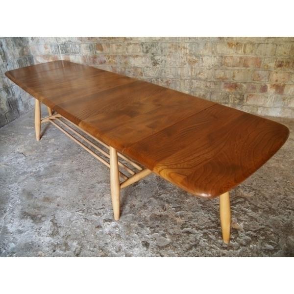Vintage Drop Leaf Ercol Coffee Table photo 1