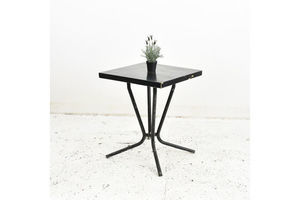 Thumb french black tolix vintage bistro table 0