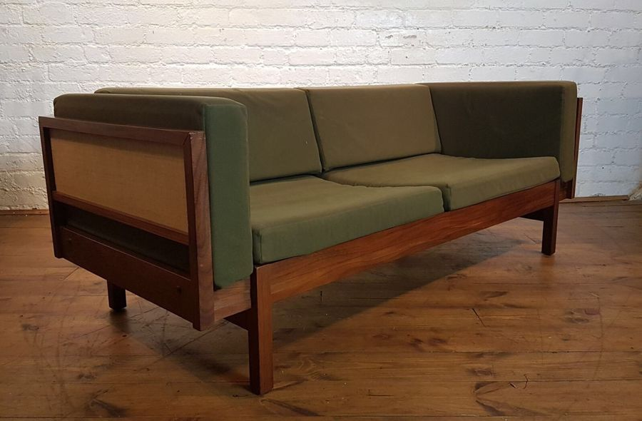 Vtg Mid Century Guy Rogers Beverly Hills 2 Seater Sofa Bed Settee Retro