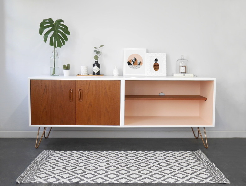 Painted To Order   G Plan Sideboard, Media Unit, Record Storage