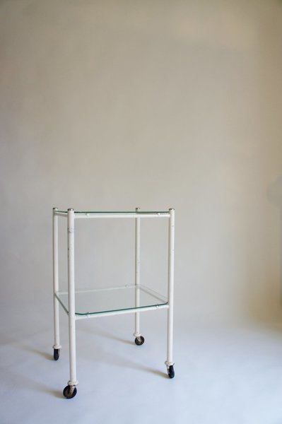 Overpainted Medical Trolley