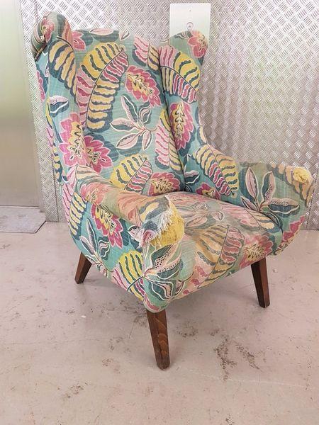 Vintage Armchair Chair Mid Century Italian Era Vintage