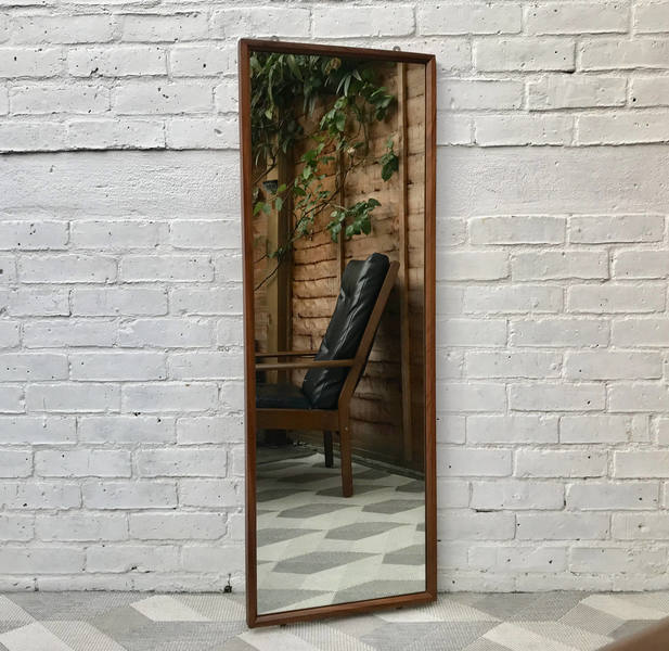 Vintage Retro Wall Mirror Rectangular #490