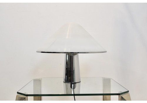 Large Mushroom Table Lamp By Harvey Guzzini For I Guzzini, 1960s