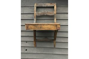 Thumb antique garden shelf up cycled rustic chair 19th century victorian 0