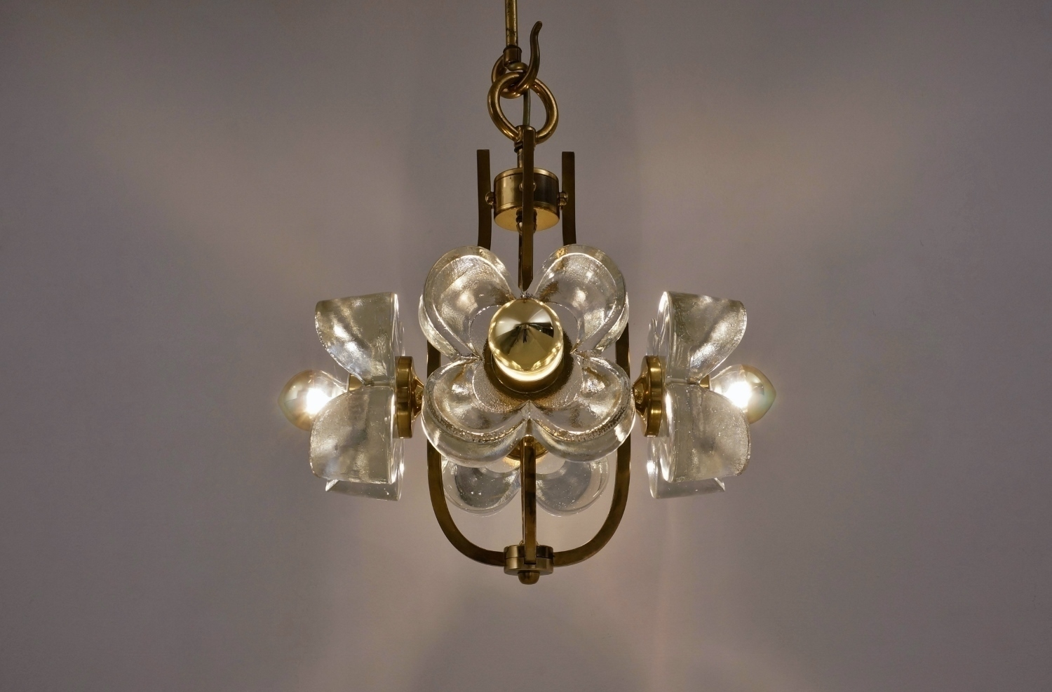 Glass Flower Pop Chandelier