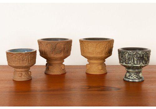 Danish Bowls By Michael Andersen For Michael Andersen, 1960s, Set Of 4
