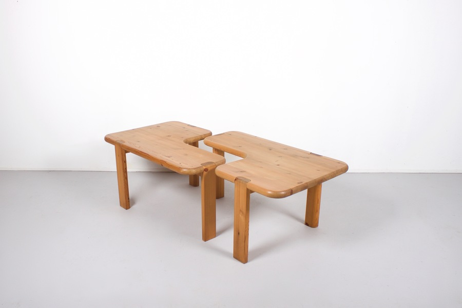 Pair Of Aksel Kjersgaard Coffee Tables For Odder Furniture, 1960