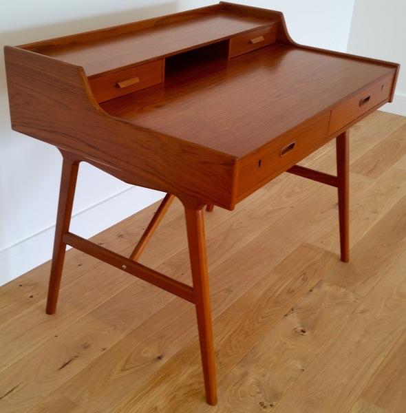 Arne Wahl Iversen Mid 20 Th Century Design Teak Desk