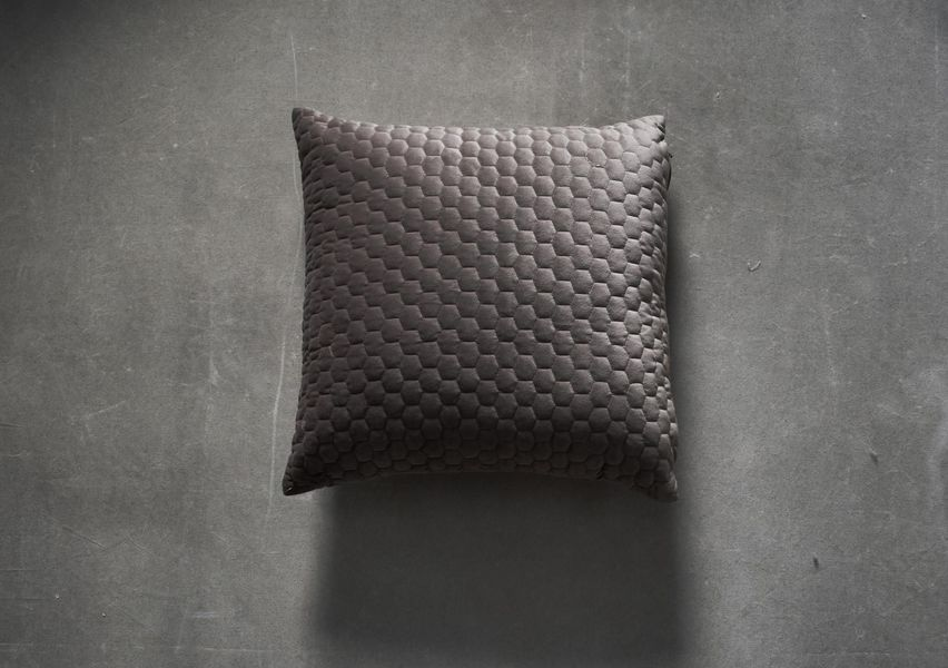 Beehive Cushion In Taupe