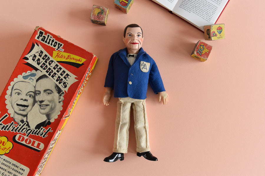 Vintage Palitoy Playthings Peter Brough's Archie Andrews Ventriloquist Doll