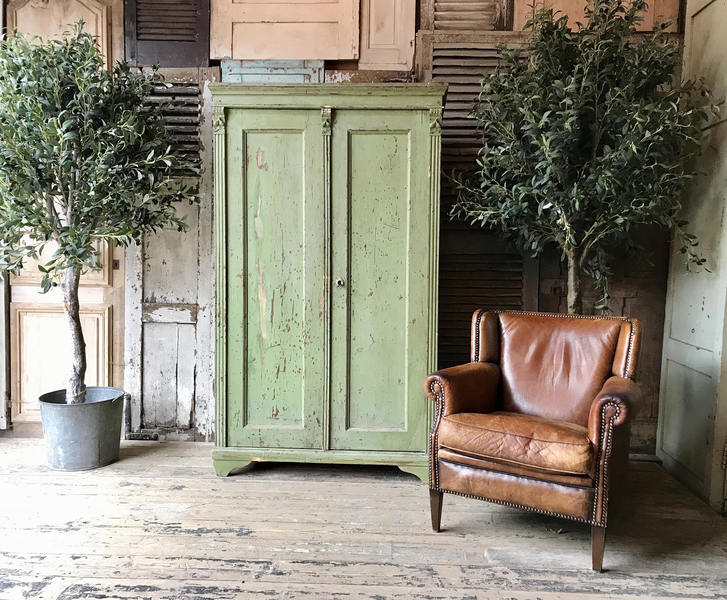 Lovely, Rustic, Vintage French Storage Cupboard / Larder
