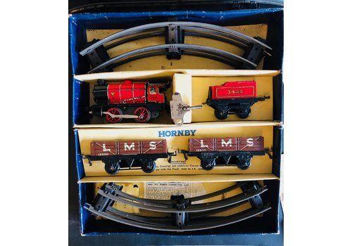 Vintage Hornby O Gauge Train Set Complete In Original Box