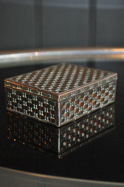 Deco Cigarette Box