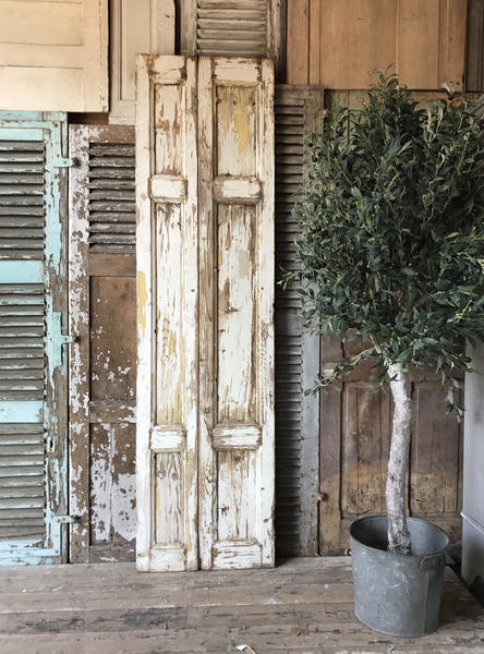 Vintage French Rustic Shutter