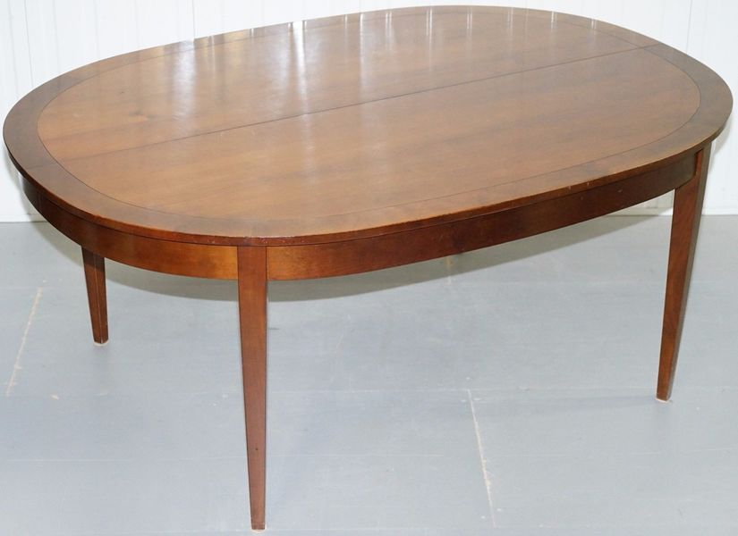 12 Person Rrp £4500 Grange Hand Made France Cherrywood Extending Dining Table