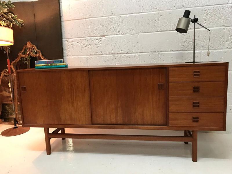 Danish Mid Century Stunning Quality Teak Sideboard