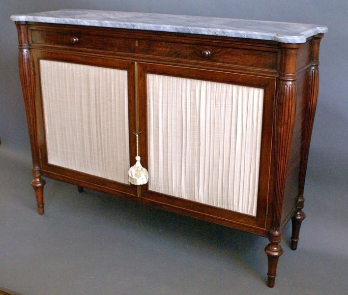 A George Iv Rosewood Cabinet