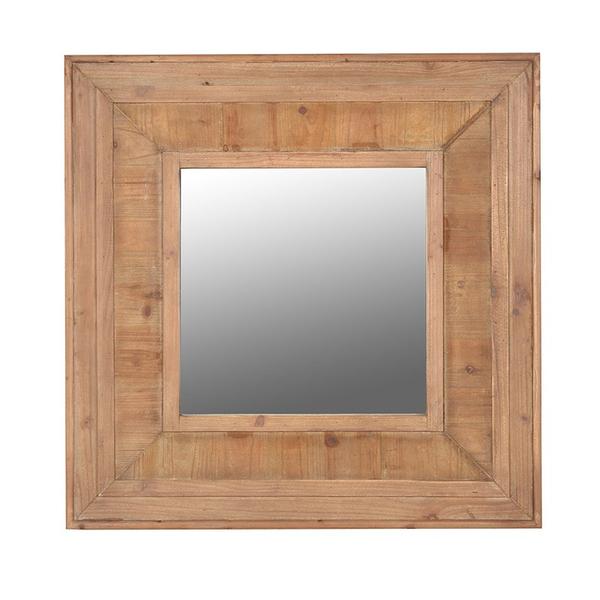 Wooden Wall Mirror