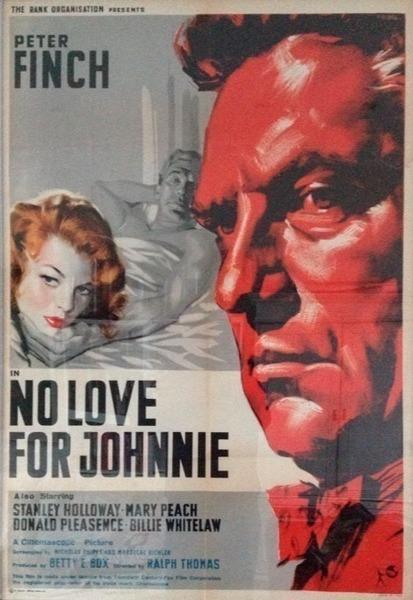 Original Movie Poster   No Love For Johnnie