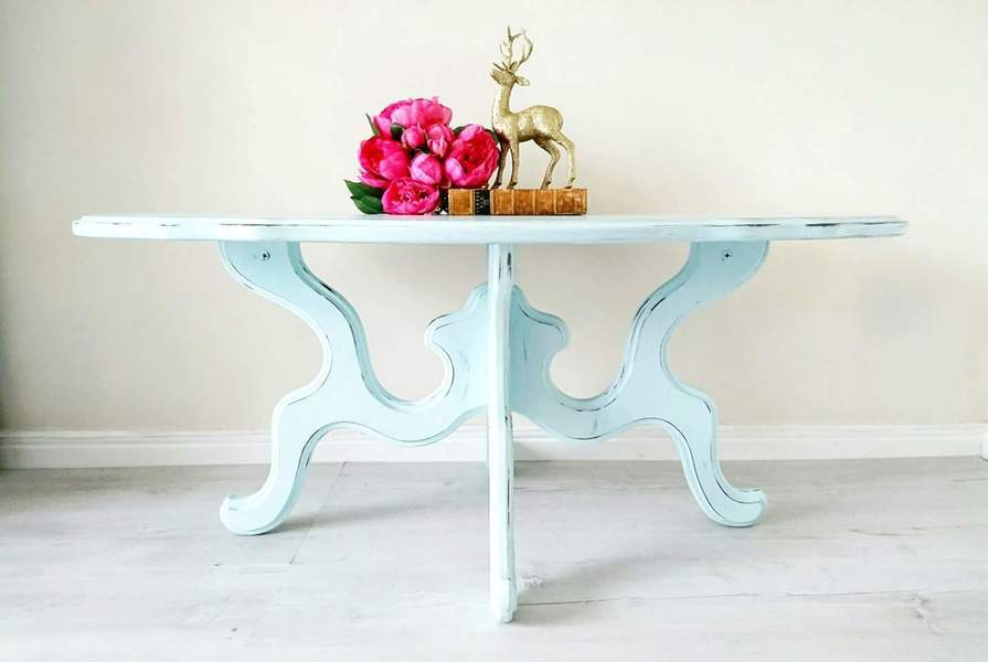 Large Coffee Table, Vintage/Shabby Chic Style