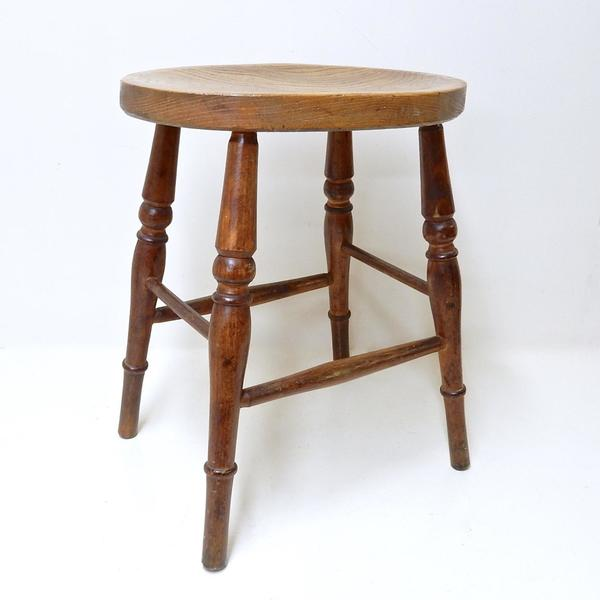 Antique Country Stool