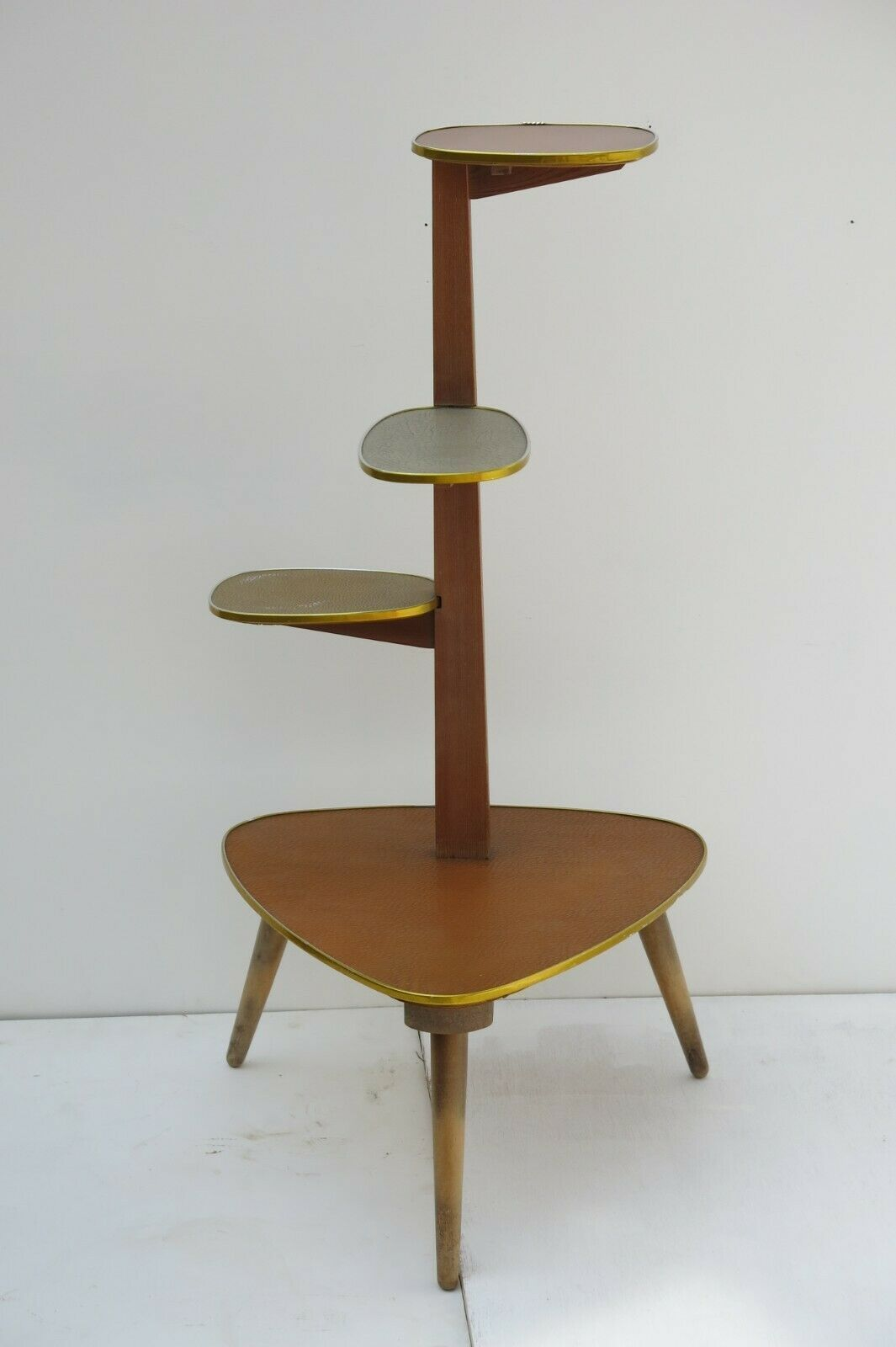 50s 60s Mid Century Modern Plant Stand Plant Table Unknown Vinterior