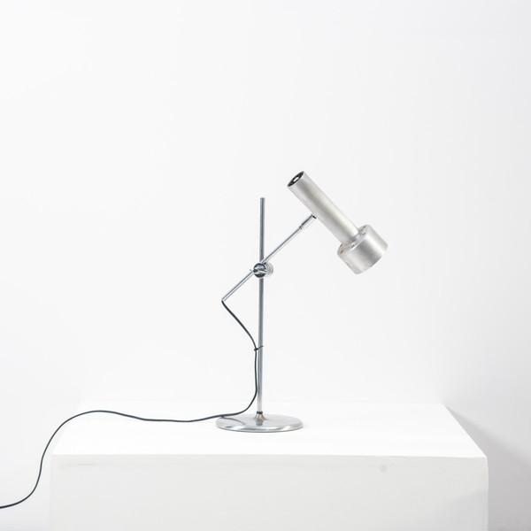 Omi Swiss Brushed Chrome Desk Lamp photo 1
