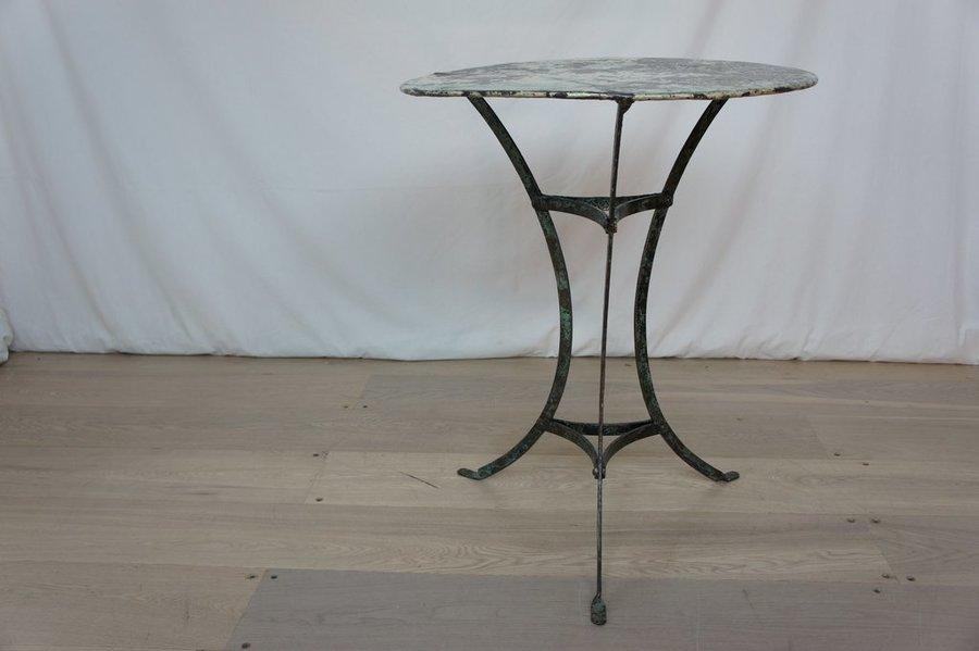 19th Century Patina Metal Garden Table