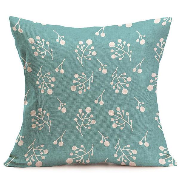 Winter Blue Cushion Cover
