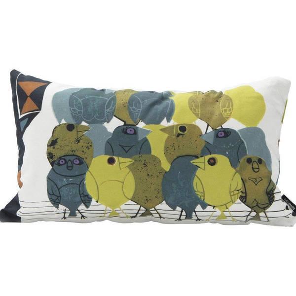 Family Of Birds Cushion Cover