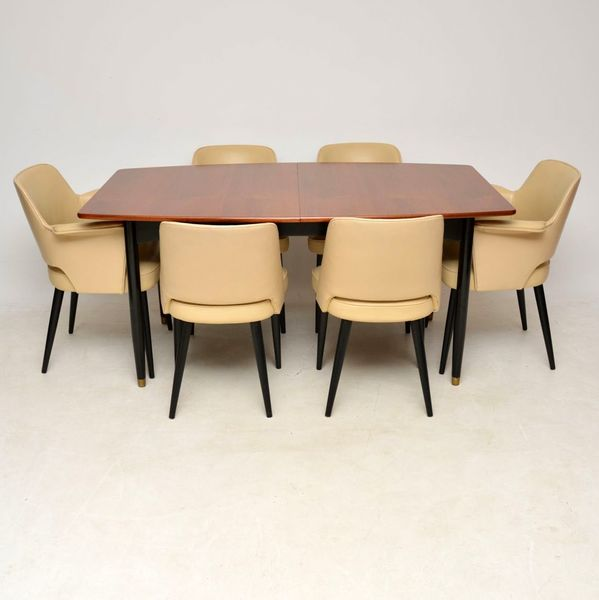 1950 S Vintage Dining Table Chairs By Robin Day For Hille Hille Vinterior