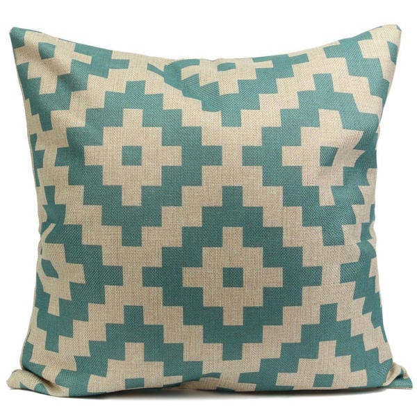 Bright Patterned Cushion Cover