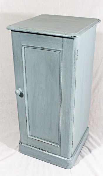 Victorian Painted Bedside Cupboard