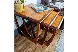 Thumb mid century g plan fresco teak nest of tables coffee table 1960s g plan 0