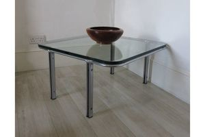 Thumb horst bruning chrome plate glass lounge coffee table horst bruning unknown kill international 0