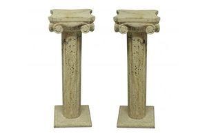 Thumb a pair of mid century travertine column pedestals 040778b9 0111 4296 ac83 d97bd66ff7b1 0