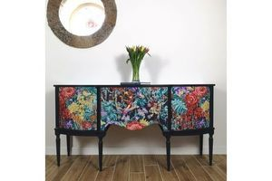 Thumb navy blue decoupaged strongbow sideboard unknown 0